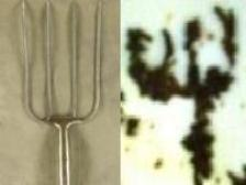Pitchfork Tea Leaf Symbol