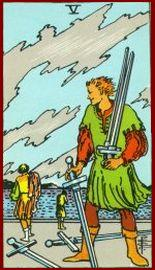 Five of Swords Tarot Card