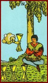 Four of Cups Tarot Card