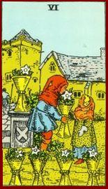 Six of Cups Tarot Card