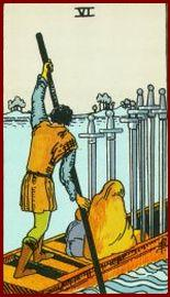 Six of Swords Tarot Card